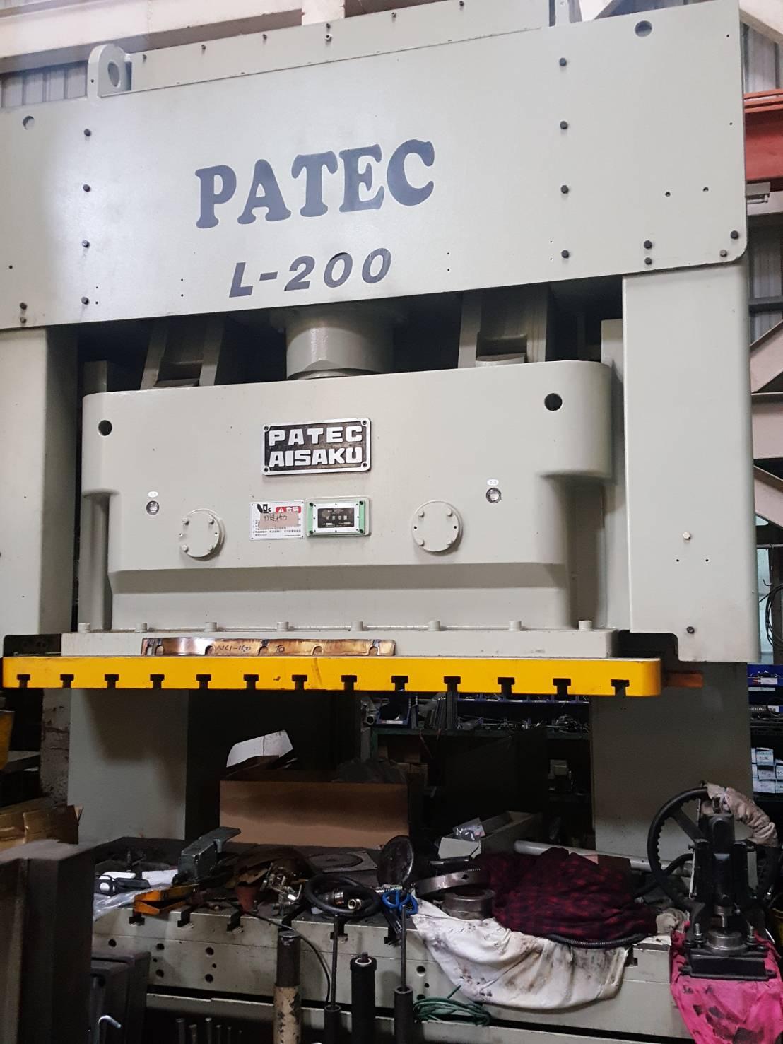 PATEC200噸雙軸肘節沖床-中古沖床買賣