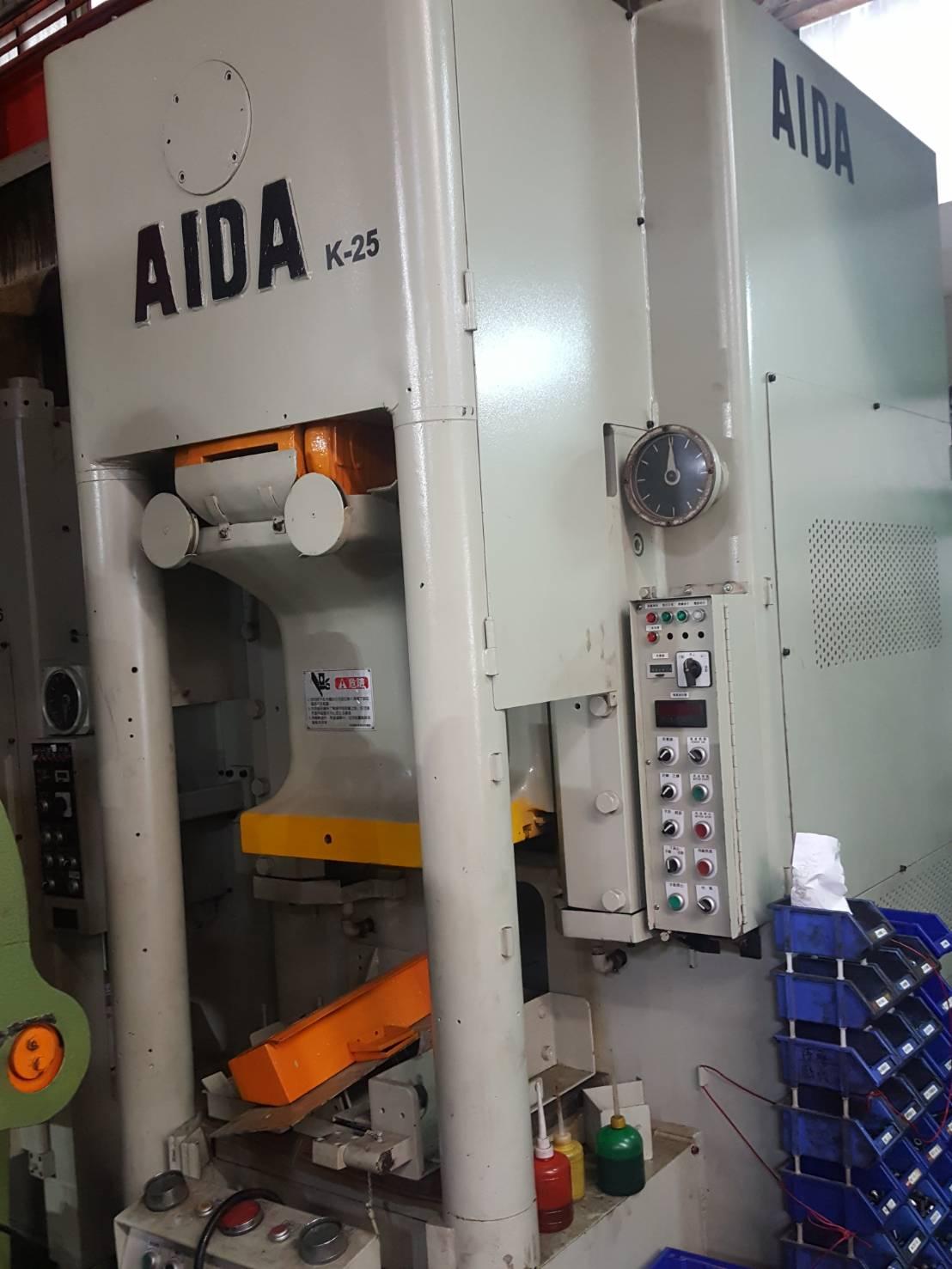 AIDA250冷鍛肘節沖床-中古沖床買賣