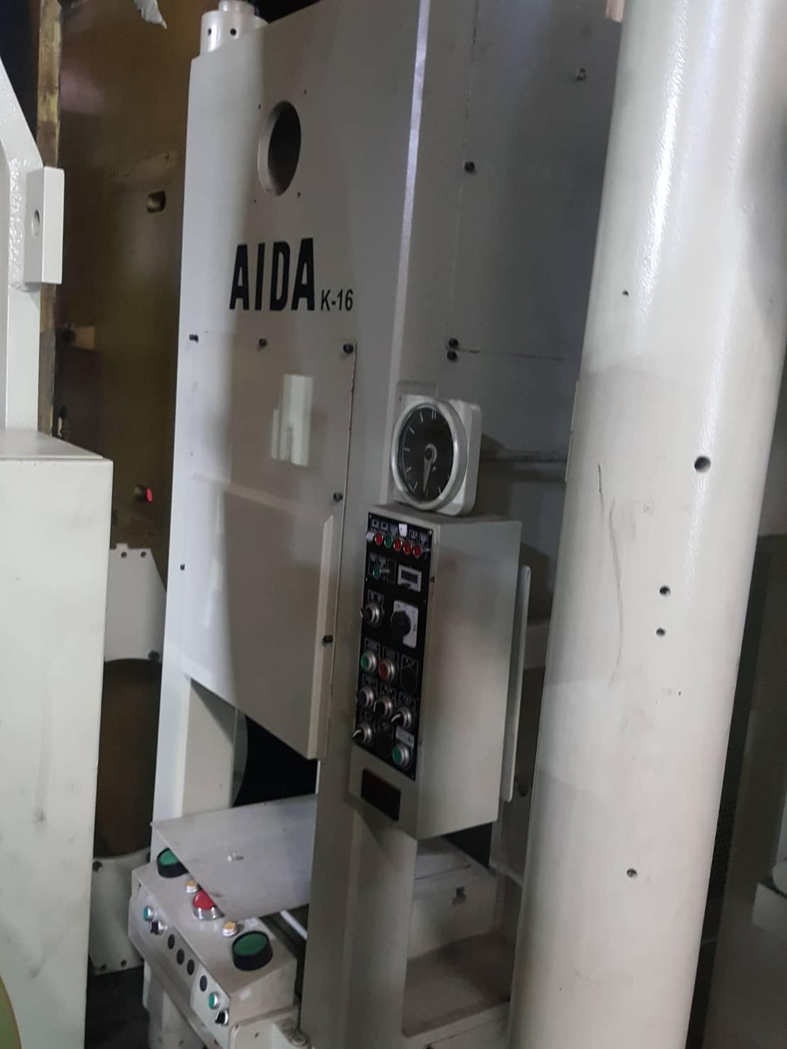 AIDA160冷鍛肘節沖床-中古沖床