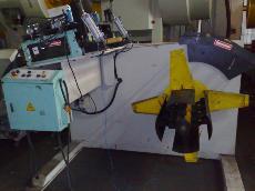 中古雷城製600寬二合一精密料架整平機-中古機械買賣