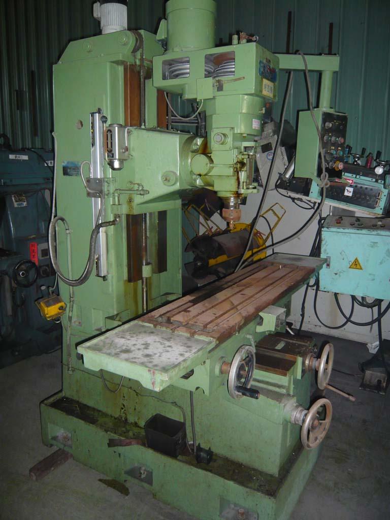 中古松侑製台式立式銑床-中古機械買賣
